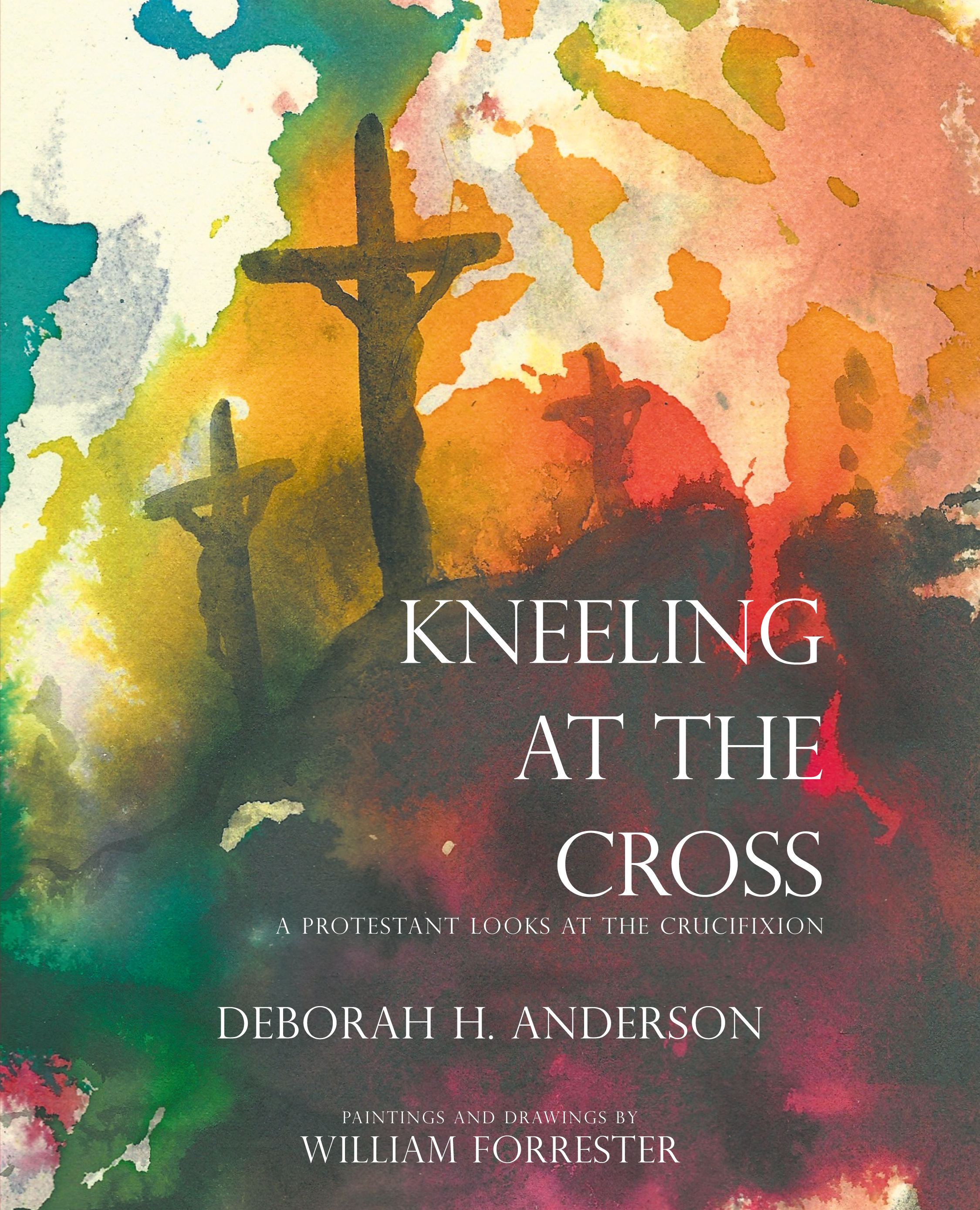 Kneeling at the cross cover art